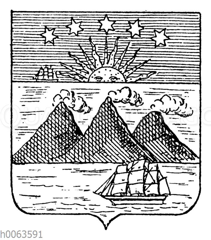Wappen von Costa Rica