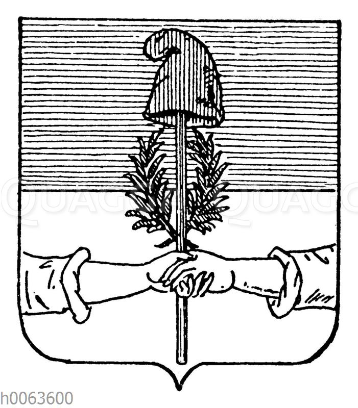 Wappen der Argentinischen Konföderation
