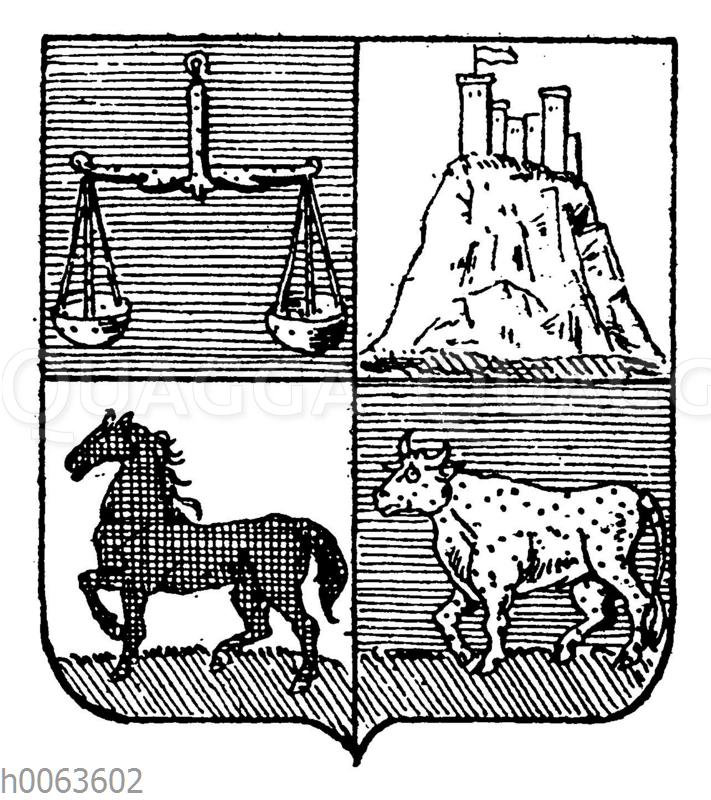 Wappen von Uruguay