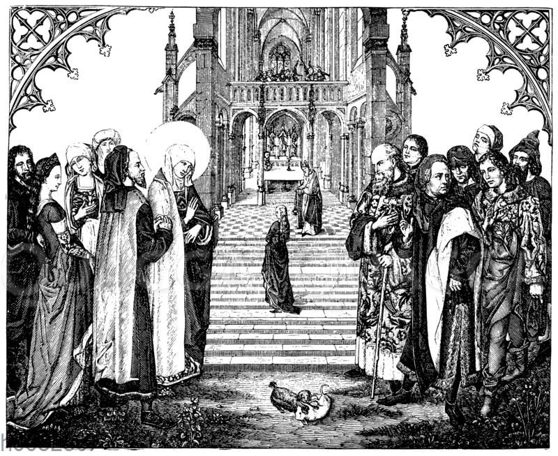Darstellung Mariae im Tempel