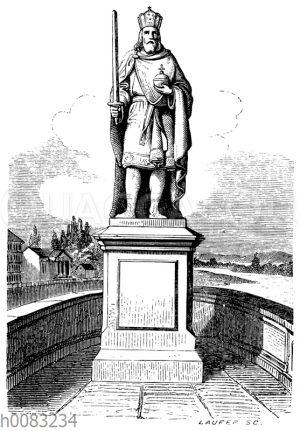 Bildsäule Karls des Großen zu Frankfurt a. M.