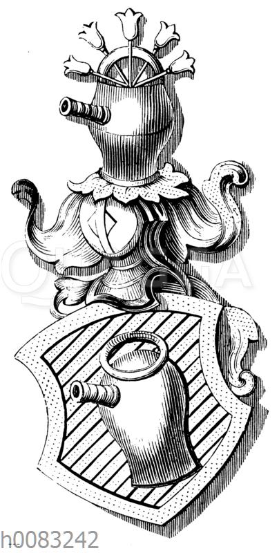 Wappen des Wolfram von Eschenbach