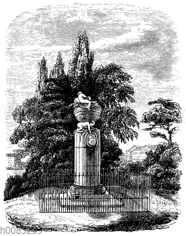 Gellert-Denkmal in Leipzig