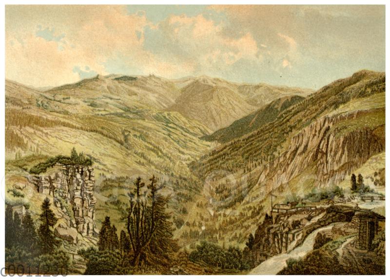 Schneekoppe im Riesengebirge