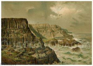 Steilküste in Irlaun: Giante's Causeway