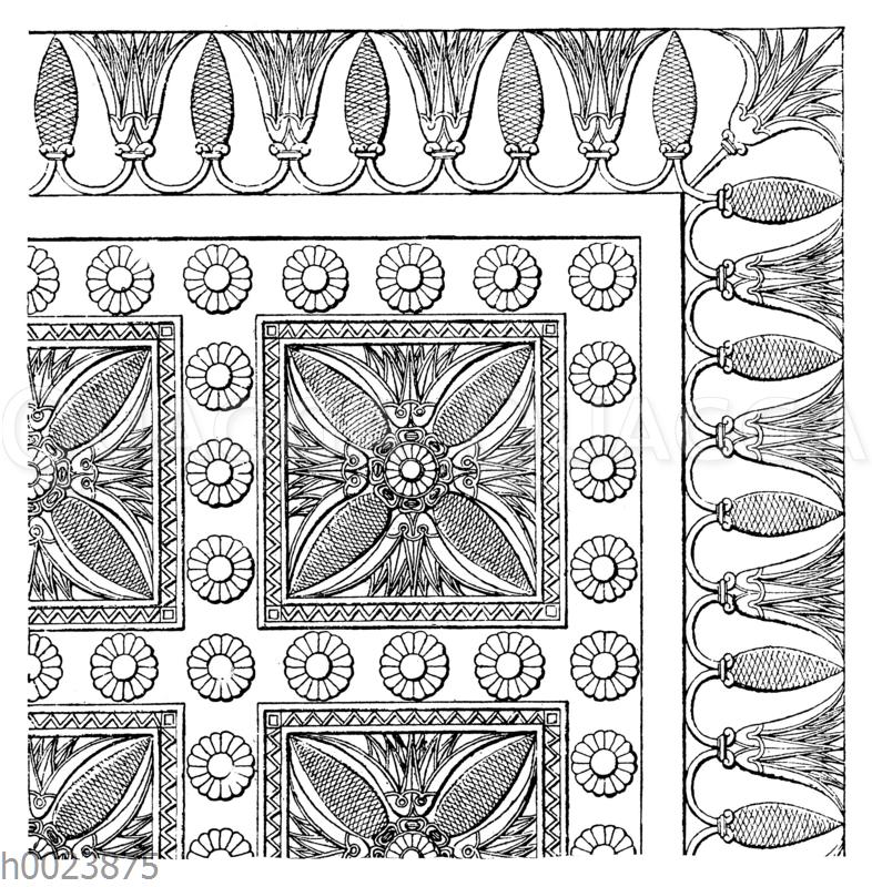 Türschwelle aus dem Palast Sanheribs zu Ninive