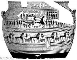 Vase des Dipylonstils