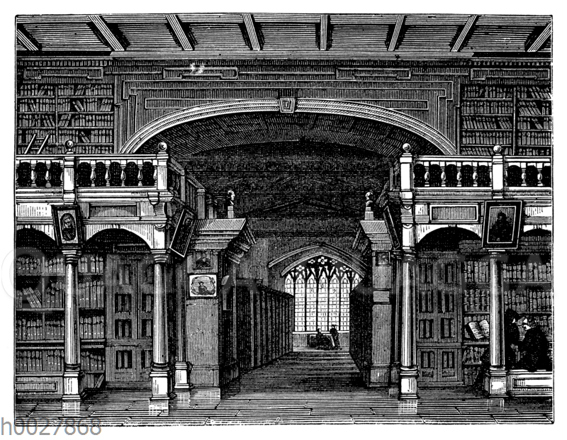 Bodley-Bibliothek in Oxford