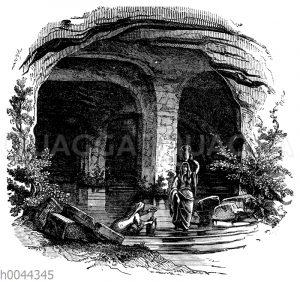 Zisterne bei Bireh (Beeroth)