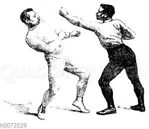 Boxen: Körperausweichen nach hinten