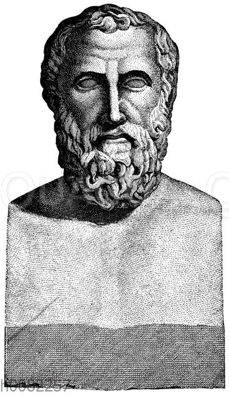 Vermutliche Idealbüste des Archilochos