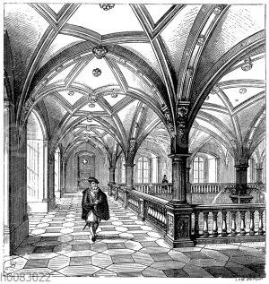 Inneres im ehemaligen Lusthaus in Stutgart