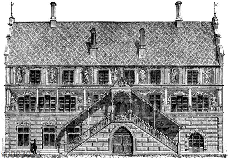 Rathaus in Mühlhausen im Elsass