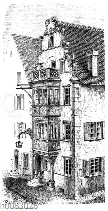 Gasthaus zur Krone in Ensisheim