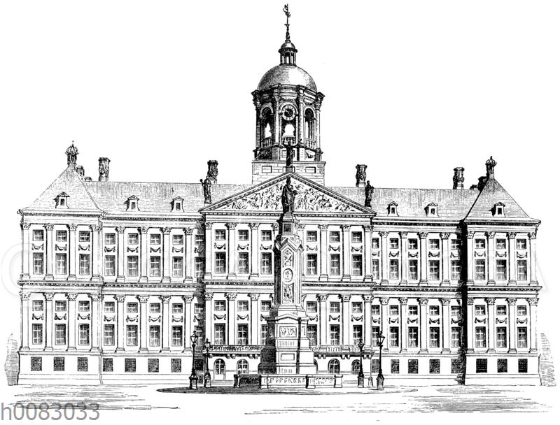 Rathaus in Amsterdam