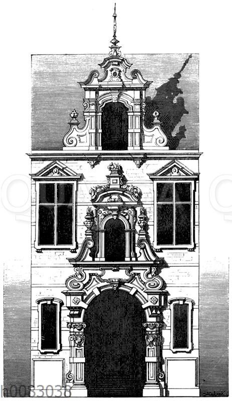 Fassade aus Brüssel