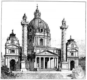Friedhofskirche zum heiligen Karl Borromäus in Wien