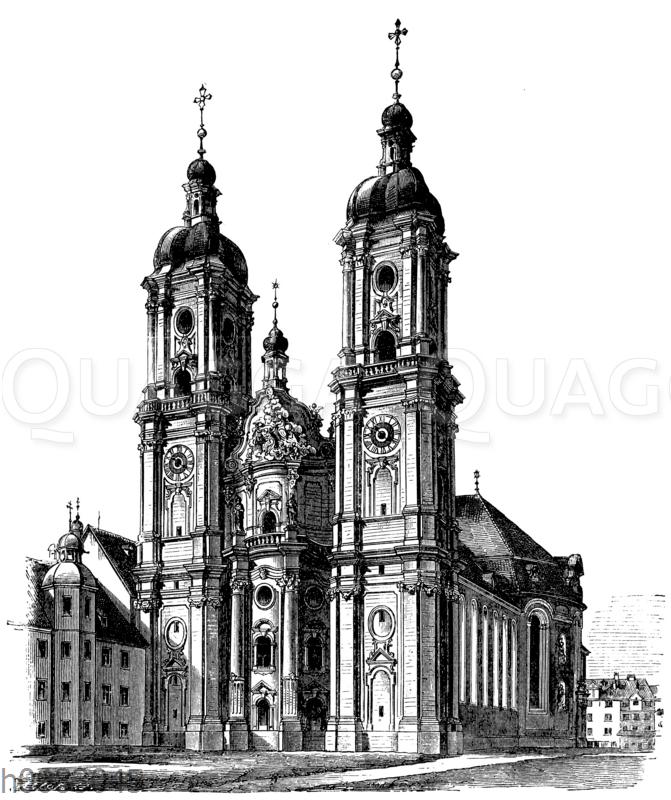 Stiftskirche zu St. Gallen