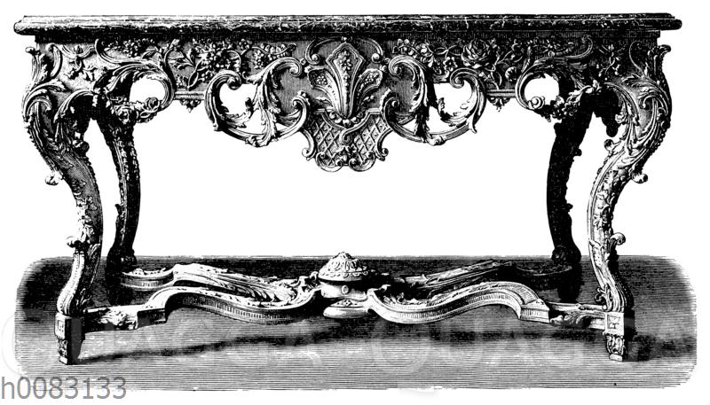 Konsolentisch aus Schloss Schleißsheim