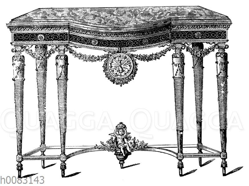 Spiegeltisch (Louis XVI.)