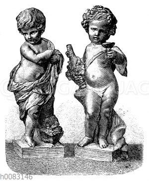 Biscuit-Figürchen von Clodion Sèvres