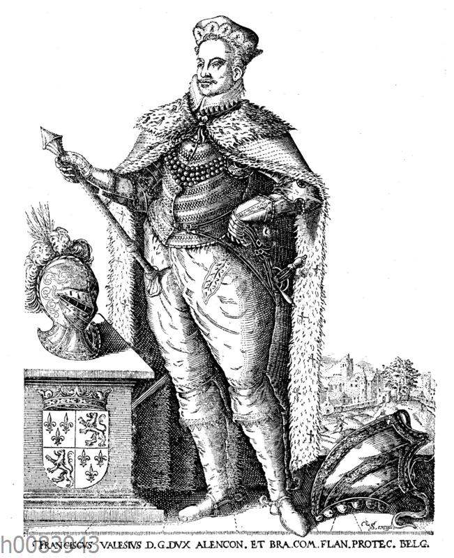 Herzog Franz von Anjou