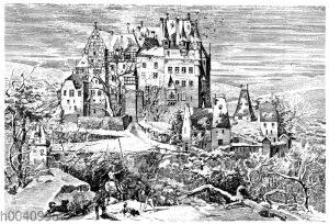 Burg Eltz bei Münstermaifeld im Elsass