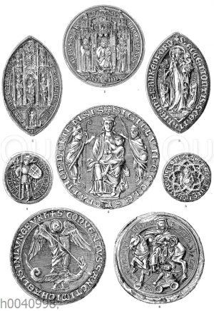 Mittelalterliche Kirchensiegel