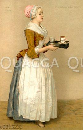Das Wiener Schokoladenmädchen