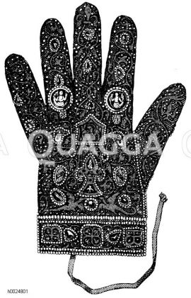 Römischer Kaiser deutscher Nation: Kaiserlicher Handschuh